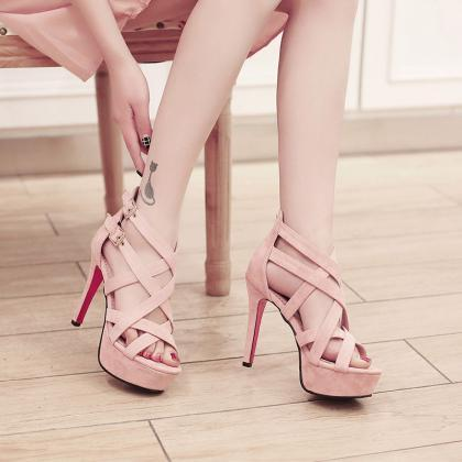 Gorgeous Gladiator High Heels Fashi..