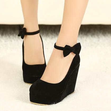 Fashion Round Closed Toe Super High..