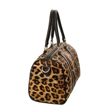 Fashion Elegant Leopard Printed Sho..