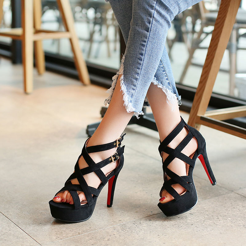 Gorgeous Gladiator High Heels Fashion Sandlas
